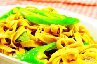 白塔子干豆腐
