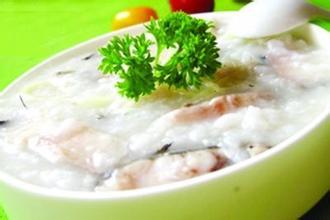 鮮美魚片粥