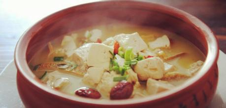 河蚌炖豆腐