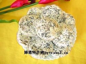 蒲庙铁锅芝麻饼