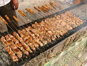 吐鲁番烤羊肉串