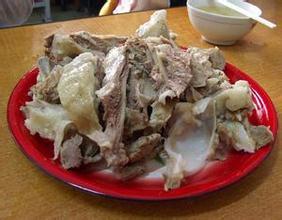 溫泉手把羊肉