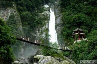 龙门山风景名胜区