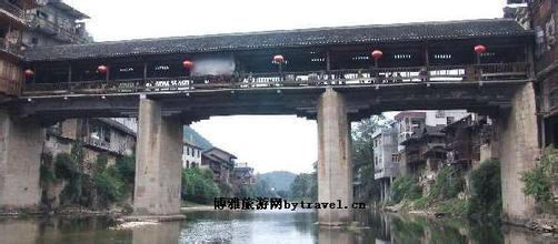 龙山洗车河古凉亭桥