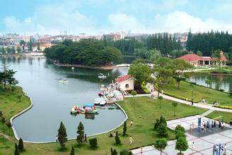 南门河游园景区