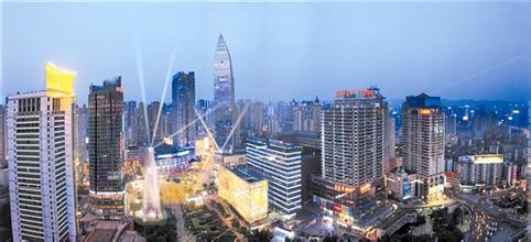 观音桥商圈都市旅游区