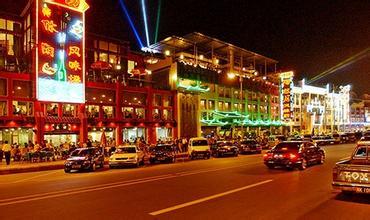 南滨路娱乐一条街