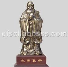 孔子青铜像